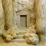 Stele Felsengrab